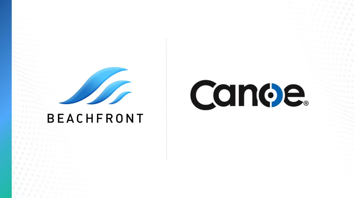 Beachfront + Canoe